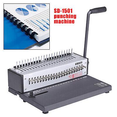 Plastic Spiral Coil Insert Binding Machine Binder Calendar Notebook Maker Office