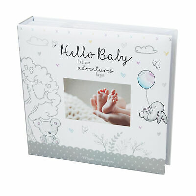 Photo Album for New Baby Unisex Design - 200 4x6 Photo