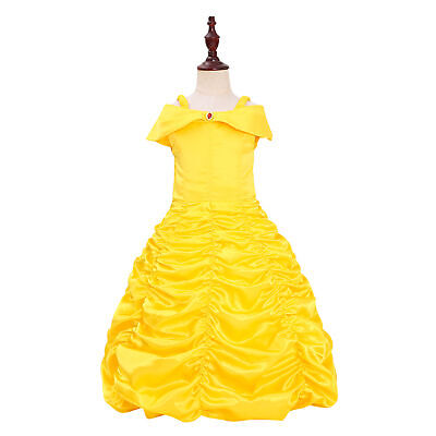 Princess Belle Costumes Princess Dress Up Halloween Costume for Little Girl - Princess Belle Costume For Teens