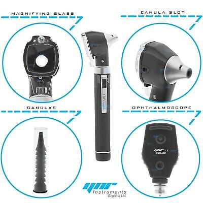 Ynr Otoscope Ophthalmoscope Opthalmoscope Led F.o Ent Diagnostic Examination Set
