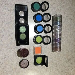 MAC eyeshadow, Pigments, Bobby Brown, & other brands
