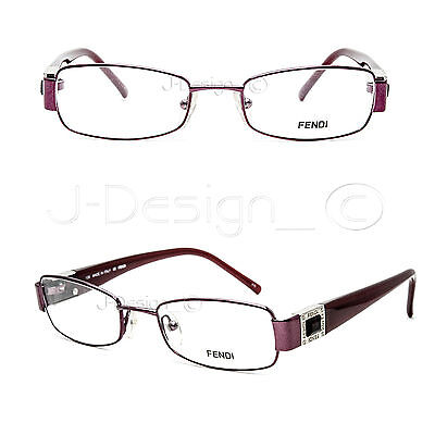 Fendi F895R 618 Color Stone Eyeglasses Rx Eyewear Made in Italy - New Authentic