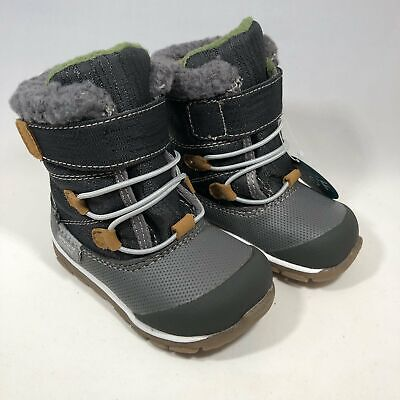 gilman winter boot gray kids shoes