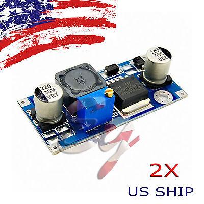 2pcs Re Dc-dc 3a Buck Converter Adjustable Step-down Power Supply Module Lm2596s