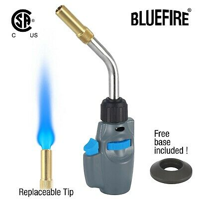 Bluefire Trigger Start Propane Mapp Map Gas Welding Torchfree Cylinder Base Csa