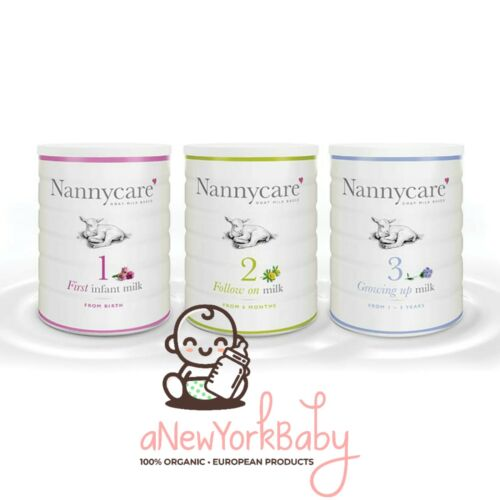 1 Can of NannyCare Goat Milk Formula - Stage 1, 2 and 3 - 900g *MAY HAVE DENTS*
