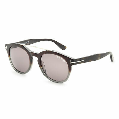 Tom Ford Unisex Newman FT0515-56A 53 Smoke Lens (Tom Ford Newman)
