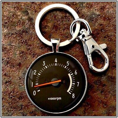 Toyota Celica Supra Tachometer Photo Keychain 🎁🏎 Gift Drift