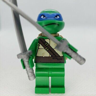 LEGO Teenage Mutant Ninja Turtles Leonardo Minifigure Plain Green Legs