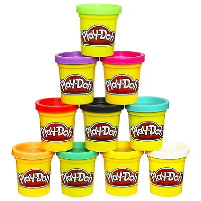 Play-Doh Case of Colors Pack of 10 Frustration-Free Packaging
