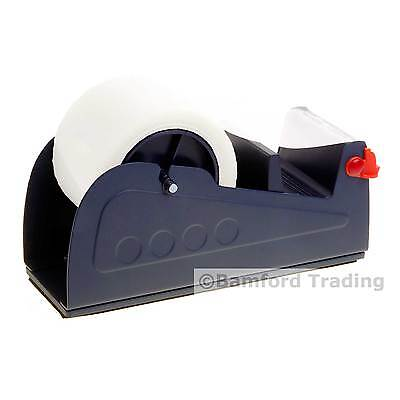 "Heavy Duty Industrial 75mm (3"") Wide Packing Bench Parcel Tape Dispenser Table"
