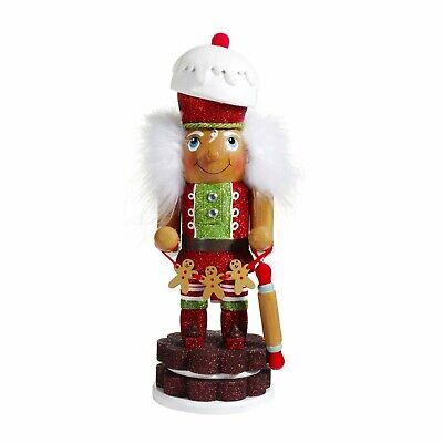 "[Kurt Adler Hollywood Nutcracker - Gingerbread Christmas Nutcracker 12"" HA0488  </Title]"