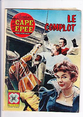 AVENTURES DE CAPE ET D'EPEE 7 (1963) LE COMPLOT BEL ETAT