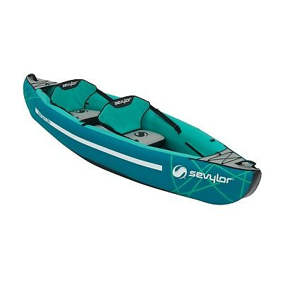 SEVYLOR WATERTON 2 PERSON INFLATABLE KAYAK boat canoe pump blow up 2000030757