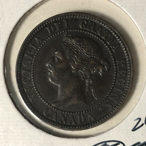 1896 Canada 1 Cent Coin