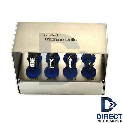 Dental Trephines Drill Kit Surgical Bone Grafting Tank Sections Removal Implant