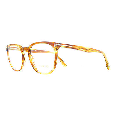 Tom Ford Glasses Frames FT5506 047 Translucent Brown 50mm Mens