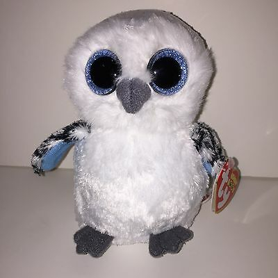 TY SPELLS THE WHITE OWL BEANIE BOOS- NEW, MINT TAGS- SUPER SOFT & BEAUTIFUL