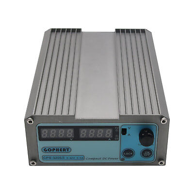 Dc Power Supply Adjustable Variable Digital Precision Lab Grade With Cable Cps-