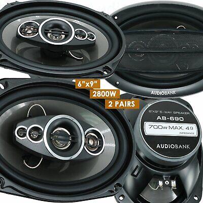4x Audiobank AB-690 6