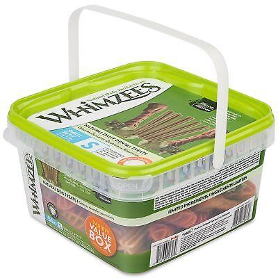 WHIMZEES Natural Grain Free Dental Dog Treats, Small Variety Pack, Bag of 56