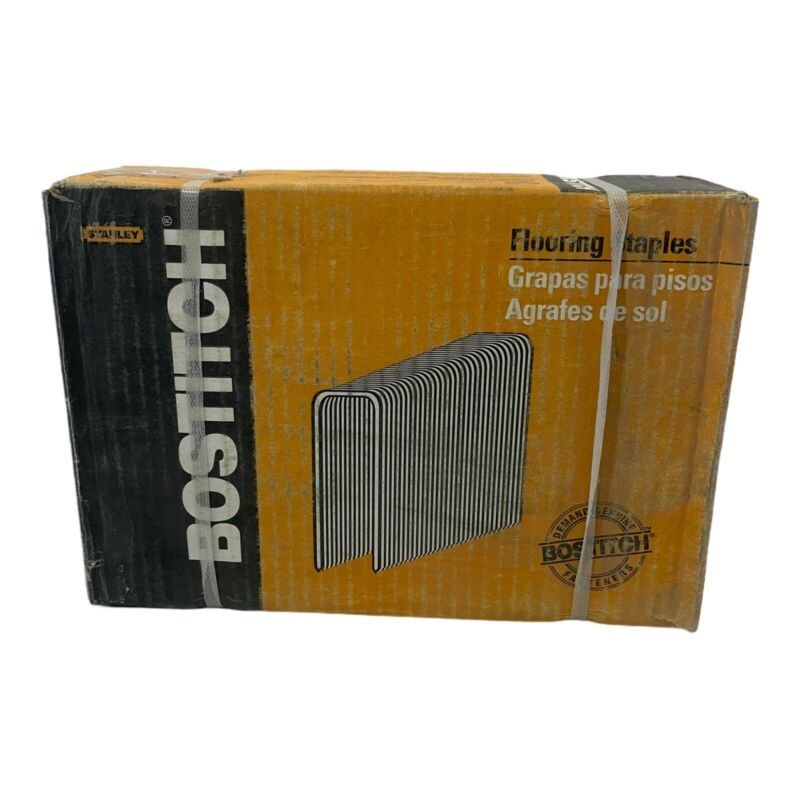 BOSTITCH BCS1516 15-1/2 Gauge 2-Inch Hardwood Flooring Staple, 7720 per Box