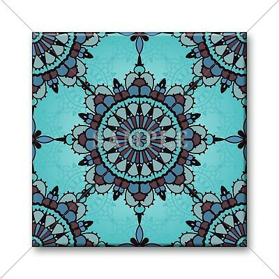 Blue Tile Design - Ceramic Tile - Moroccan Tile Design Blue Kitchen Bathroom Ceramic Tiles #01
