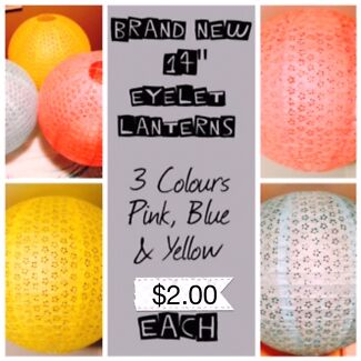 PAPER LANTERNS FOR ALL OCCASSIONS Padbury Joondalup Area Preview
