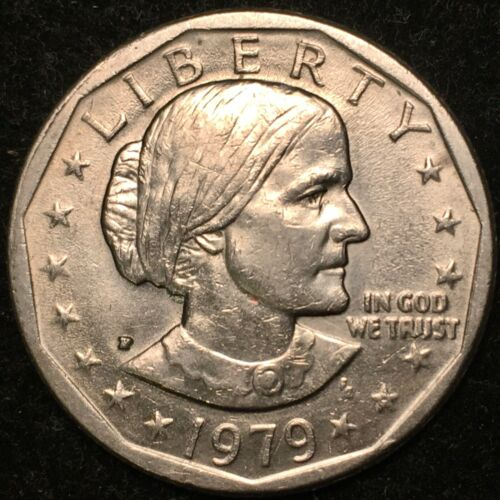 1979-P Susan B Anthony Dollar WIDE RIM NEAR DATE