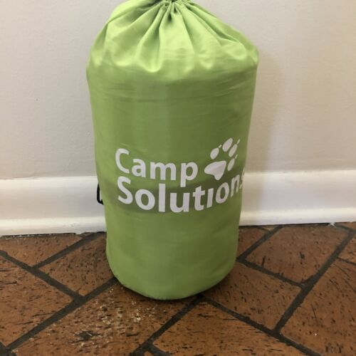 CAMP SOLUTIONS Lightweight Green Self Inflating Sleeping Pad