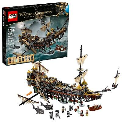 LEGO Pirates of the Caribbean Silent Mary #71042 NEW Box has some creases.