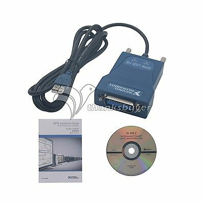 New Sealed Ni Gpib-usb-hs National Instrumens Interface Adapter Controller Ieee