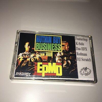 DJ Shazam X Best of EPMD NYC 90s Hip Hop Rap Mixtape Cassette