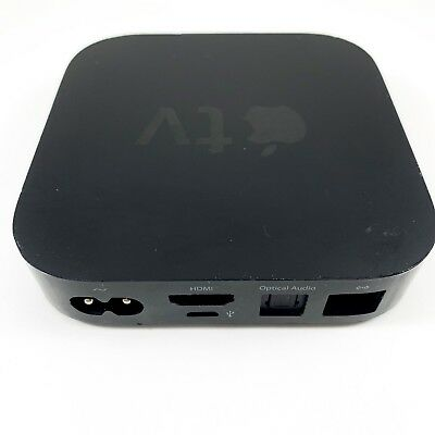 Apple TV Gen 3 1080p A1469 Smart Media Streaming Player MD199LL/A NO REMOTE