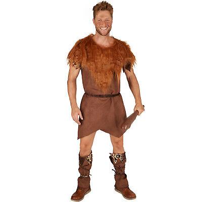 Herrenkostüm Steinzeitmann Urmensch Neandertaler Höhlenmensch Fasching - Urmensch Kostüm