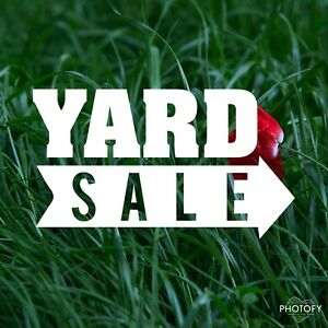 Yard Sale Items Today  sept 15