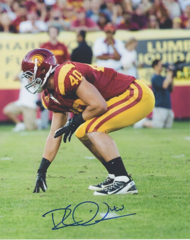 Rhett Ellison MN Minnesota Vikings USC Auto Signed 8x10 Photo COA GFA RE4 PROOF!