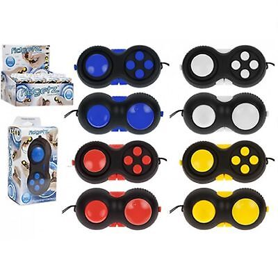 Fidgitz Finger Fidget Pad ADHD Stress Relief Gamepad Controller Toy Xmas Gift