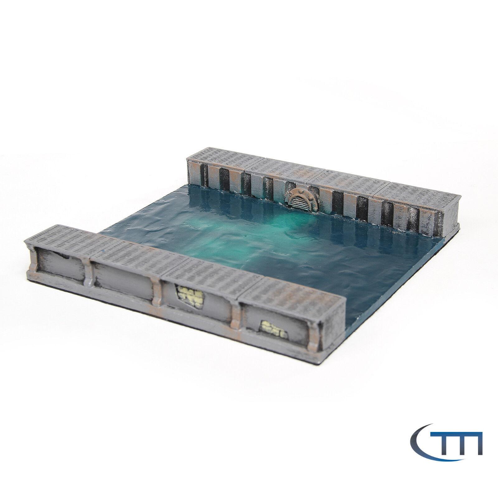 Tabletop / Terrain / Gelände / Kanalmodul Gerade I
