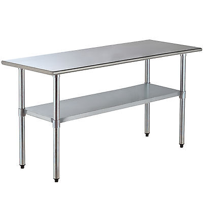 30 X 72 Commercial Work Table Stainless Steel Food Prep Kitchen Restaurant