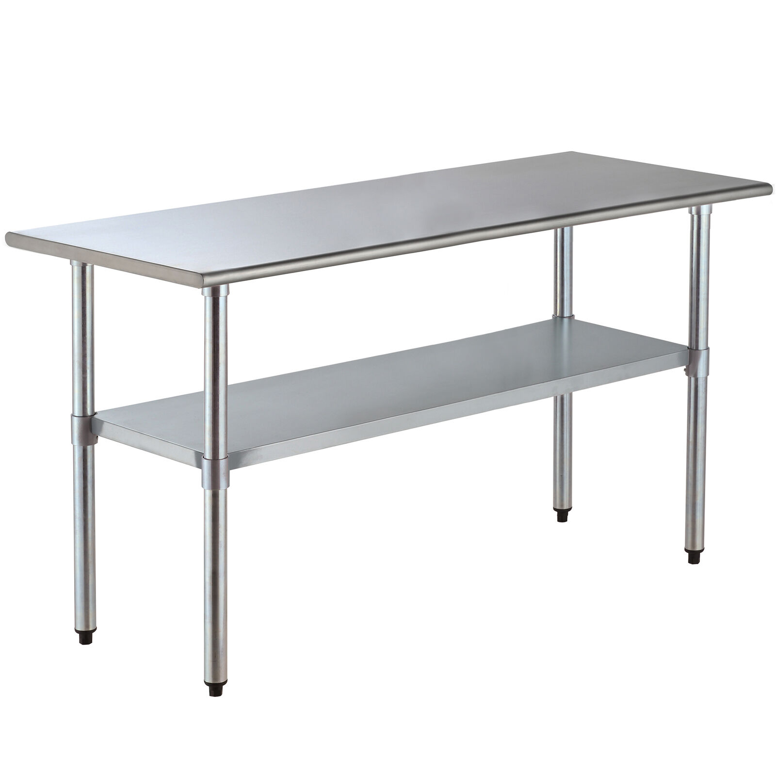 "Stainless Steel Kitchen Work Table: 30"" X 72"" Stainless Steel Commercial Kitchen Restaurant"