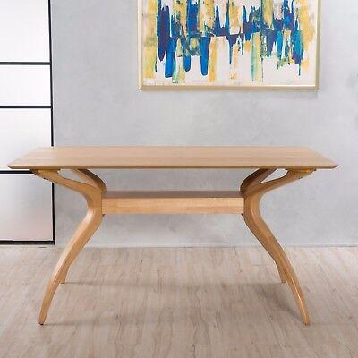 Seraphim Natural Oak Finish Wood Dining Table ()