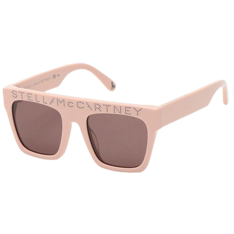 NEW STELLA MCCARTNEY SK0048S 002 KIDS PINK/BROWN AUTHENTIC SUNGLASSES 45-18-130