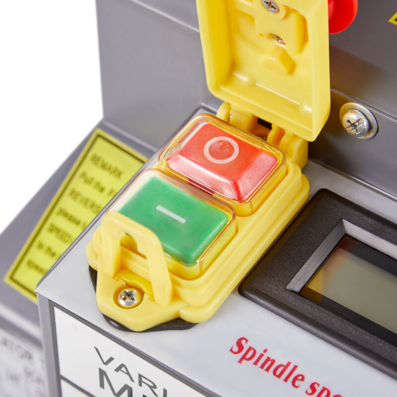 Mini Metal Lathe x 550W Digital Display Gear Variable