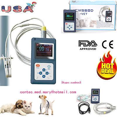 Vet Animal Pulse Oximeter Veterinary Spo2 Pr Monitor With Tongue Probeusbsw Us