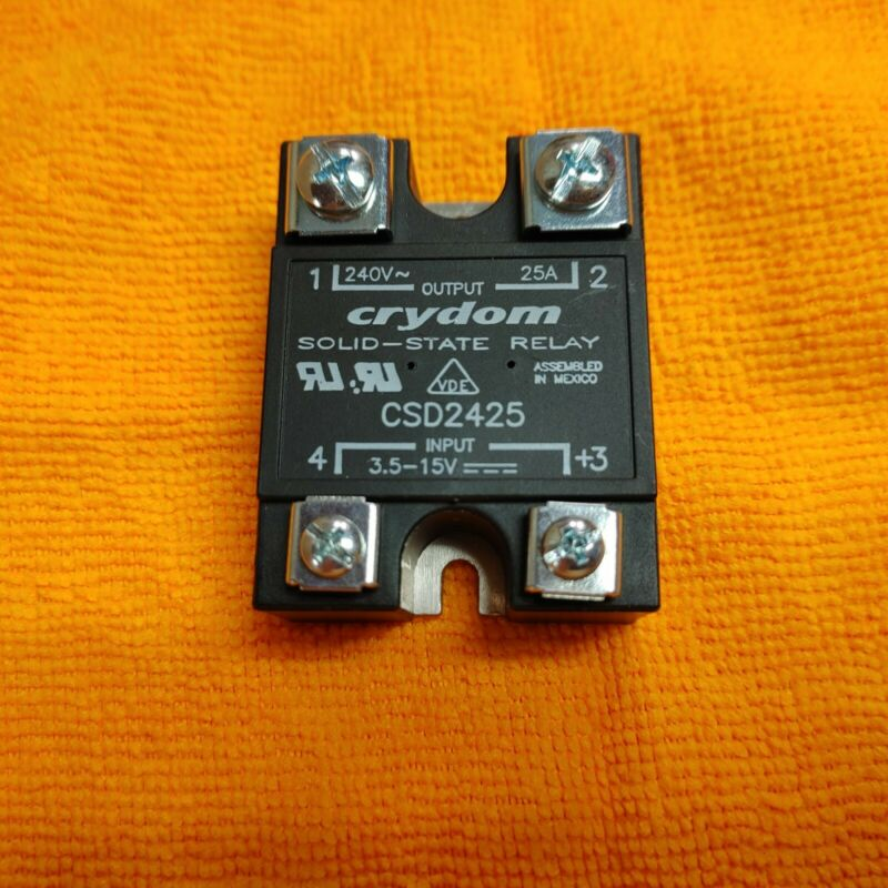 Crydom CSD2425 Solid State Relay Output: 25A 240VAC Input: 3.5-15VDC Free Ship