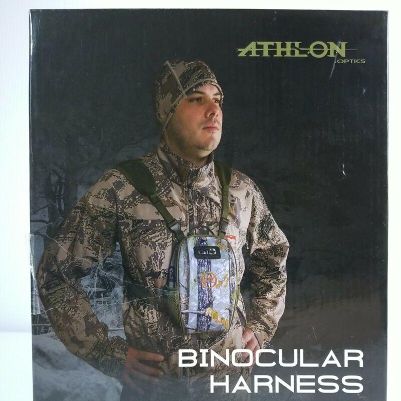 Athlon Binocular Harness w/ Magnetic Closure, Camoflauge Hunting Accessory NEW