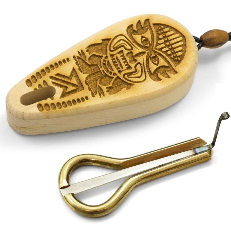 """Oberton Pro """"Tuulu Altai"""" Jaw Harp - Strange Tiny Thing for Unusual Fun"""