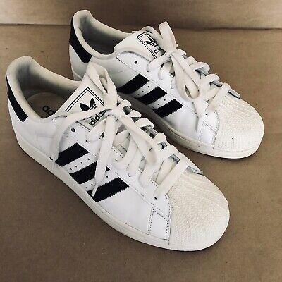 Adidas Superstar 2 Shoes [G17068] Classic Superstar White Black Men's US Size 10 Adidas Superstar 2 Shoes