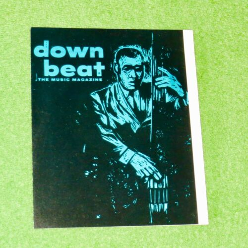DOWN BEAT MAGAZINE & ARGO RECORDS 1959 Mail-In Offer Insert (ahmad jamal)